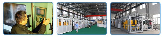 Electrical Extrusion Blow Molding Machine ,  PE PP Bottle Making Machine 0