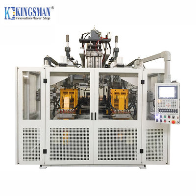 HDPE Automatic Blow Molding Machine Double Station 245mm Mould Thickness