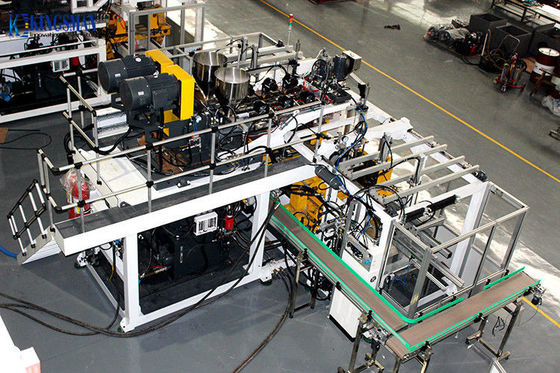 High Speed Extrusion Blow Molding Machine , HDPE Blow Molding Machine