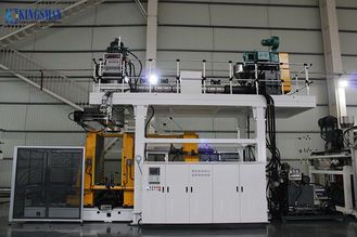 High Efficiency PE PP Blow Moulding Machine 100 Watt 9.3m x 4.6m x 6m