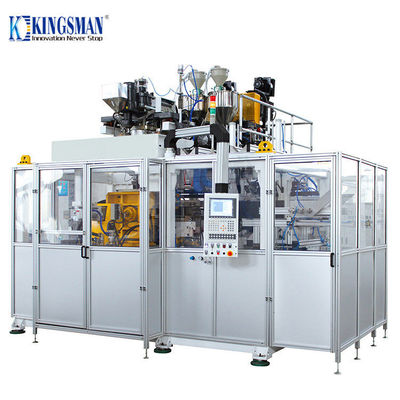 HDPE Fully Automatic Blow Moulding Machine 6.1M x 4.1M x 3.6M 90 Total Power